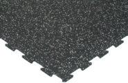 Pusselgolv gummi grå 8mm