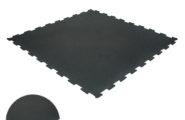 Pusselgolv gummi svart 8mm